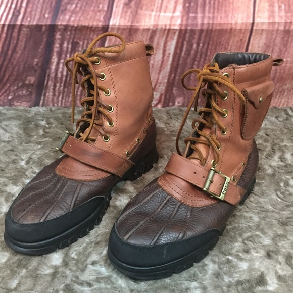 Polo by Ralph Lauren Hamlin Lace-Up Boot Infant//Little Kid//Toddler